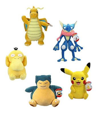 Pokémon Plush Figures 30 cm Wave 4 Assortment (6)
