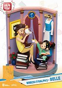 Ralph Breaks the Internet D-Stage PVC Diorama Belle & Vanellope 15 cm --- DAMAGED PACKAGING