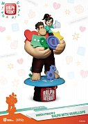 Ralph Breaks the Internet D-Stage PVC Diorama Ralph & Vanellope 16 cm