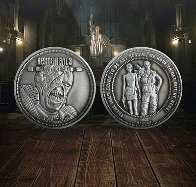 Resident Evil 3 Collectable Coin Nemesis Limited Edition