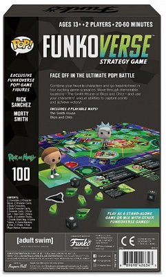 Rick & Morty Funkoverse Board Game 2 Character Expandalone *Spanish Version*
