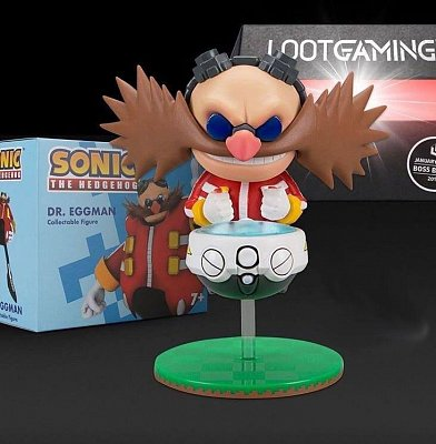 Sonic Figure Dr. Eggman Lootcrate Exclusive 10 cm --- DAMAGED PACKAGING