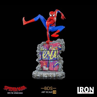 Spider-Man: Into the Spider-Verse BDS Art Scale Deluxe Statue 1/10 Peter B. Parker 21 cm