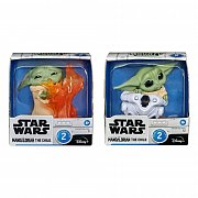 Star Wars Mandalorian Bounty Collection Figure 2-Pack The Child Helmet Hiding & Stopping Fire