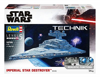 Star Wars Model Kit with Sound & Light Up 1/2700 Imperial Star Destroyer 59 cm