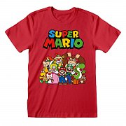 Super Mario T-Shirt Main Character Group