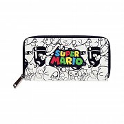 Super Mario Zip Around Wallet Logo