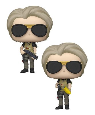 Terminator: Dark Fate POP! Movies Vinyl Figures Sarah Connor 9 cm Assortment (6) --- DAMAGED PACKAGING
