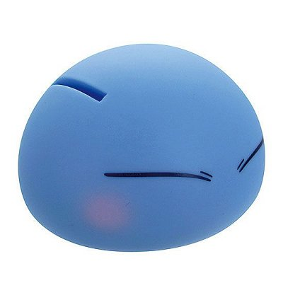 That Time I Got Reincarnated as a Slime Soft Vinyl Figure / Coin Bank Rimuru / Slime Ver. 9 cm --- DAMAGED PACKAGING