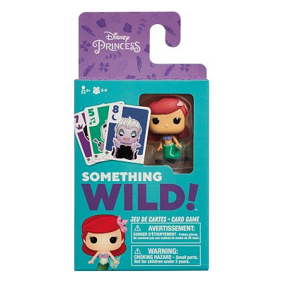 The Little Mermaid Card Game Something Wild! Case (4) FR/EN Version