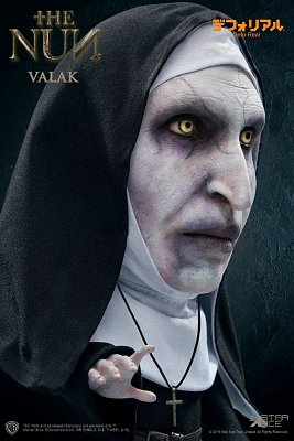 The Nun Defo-Real Series Soft Vinyl Figure Valak 15 cm