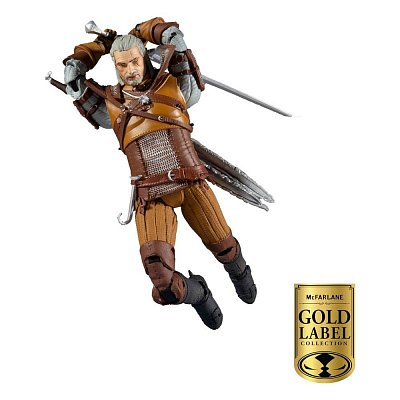 The Witcher Action Figure Geralt of Rivia Gold Label Series 18 cm