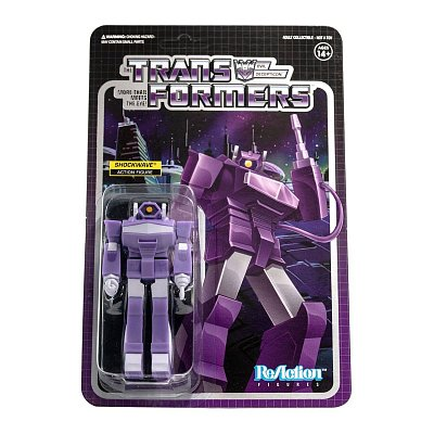 Transformers ReAction Action Figure Wave 2 Shockwave 10 cm