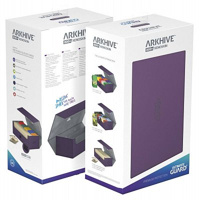 Ultimate Guard Arkhive™ 800+ Standard Size XenoSkin™ Purple