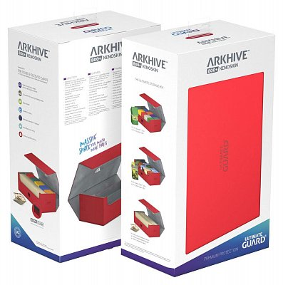 Ultimate Guard Arkhive™ 800+ Standard Size XenoSkin™ Red