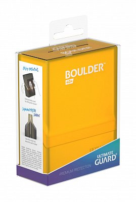 Ultimate Guard Boulder™ Deck Case 40+ Standard Size Amber