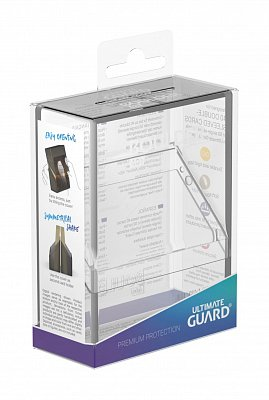Ultimate Guard Boulder™ Deck Case 40+ Standard Size Clear
