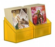 Ultimate Guard Boulder™ Deck Case 60+ Standard Size Amber